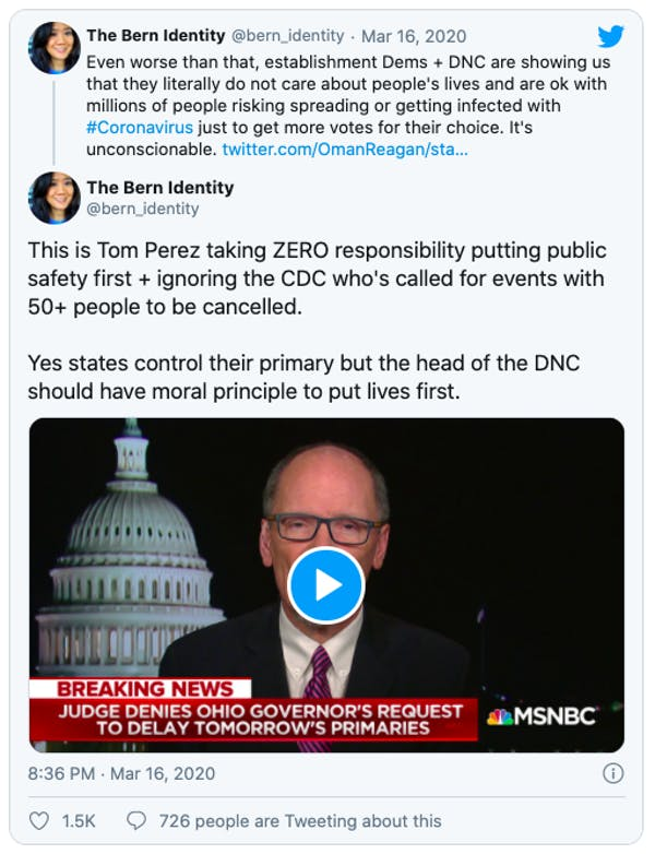 Tom Perez is not your friend.