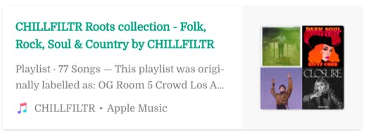 CHILLFILTR Roots Collection