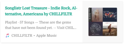 Indie Rock and Americana