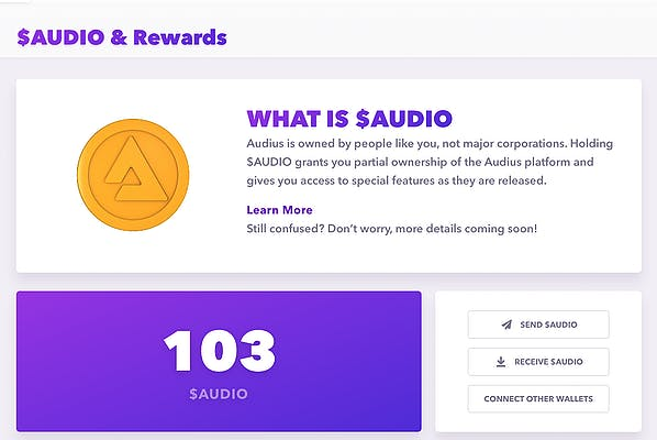 image for How I Achieved Silver Status on Audius. — Buying Crypto is Not for the Faint of Heart.