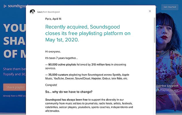 image for Making the Transition to Soundiiz from Soundsgood. - The Good, the Bad, the Automatic