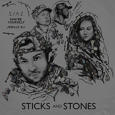 image for Detroit Collab Mixes Hip Hop and Electro Pop. - SIAS x Sam Be Yourself x Jemille Ali: Sticks And Stones