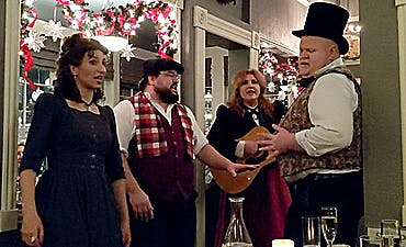 image for Alchemy in Ashland, Oregon: Annual Dickens' Feast Since 1982 Features 6 Delicious Courses and Music by the Winchester Singers.