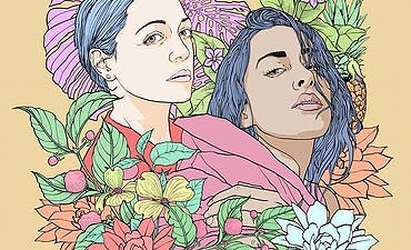 featured image for A Tribute 2 Femininity from LA Pop Star. - Anjulie & Natalia Lafourcade (ft Phyno): Holy Water