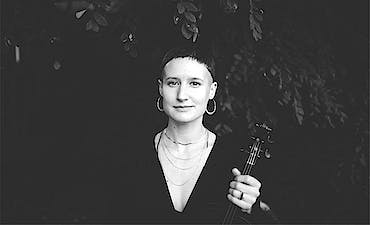 featured image for Modern Ambient Fiddle Music from Michigan. - Laurel Premo: The Brushy Fork of John's Creek