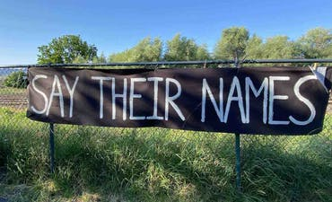 featured image for Say Their Names. - A Tribute to Black Lives Matter