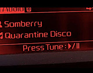 featured image for Weekly Winner. - Quarantine Disco by Somberry