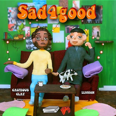 image for Bittersweet Groove from Two of Electronic Music's Brightest Stars. - LLusion x Cautious Clay: Sad4good