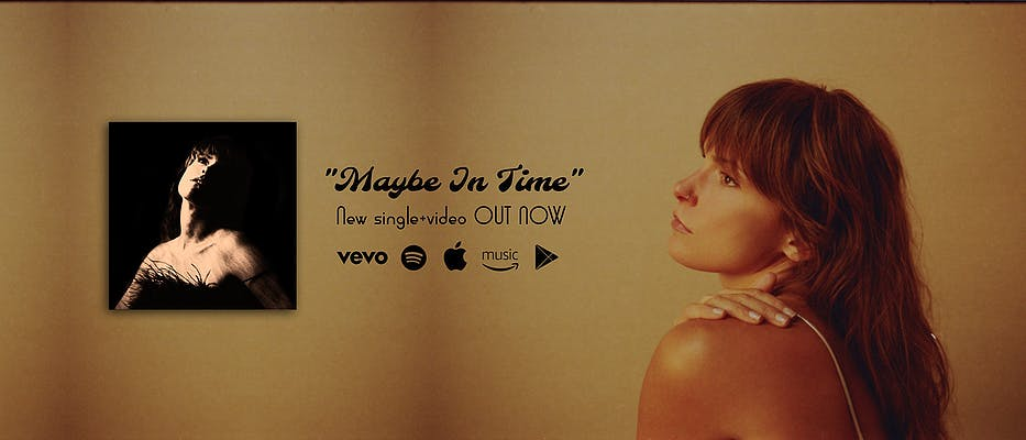 image for Gorgeous Chamber Pop Explores the Divine. - Lydia Luce: Maybe in Time