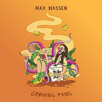 image for Wistful Hip Hop from Toronto for Fans of Eminem. - Max Wassen: Growing Pains