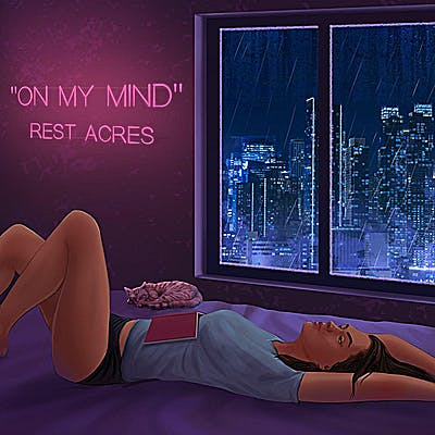 image for Electronic Pop from Toronto Delivers a Moment of Introspection. - REST ACRES: On My Mind